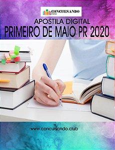 APOSTILA CÂMARA DE PRIMEIRO DE MAIO PR 2020 CONTADOR