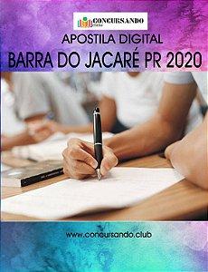 APOSTILA PREFEITURA DE BARRA DO JACARÉ PR 2020 ADVOGADO