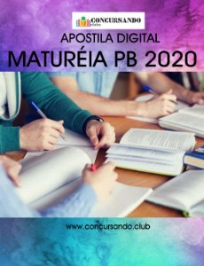 APOSTILA PREFEITURA DE MATURÉIA PB 2020 FARMACÊUTICO