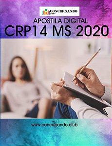 APOSTILA CRP 14 MS 2020 ASSESSORIA TÉCNICA