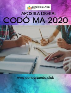 APOSTILA PREFEITURA DE CODÓ MA 2020 BIOMÉDICO