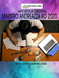 APOSTILA PREFEITURA DE MINISTRO ANDREAZZA RO 2020 ENGENHEIRO CIVIL