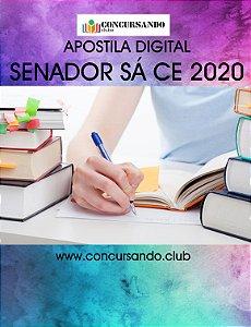 APOSTILA PREFEITURA DE SENADOR SÁ CE 2020 SECRETÁRIO ESCOLAR