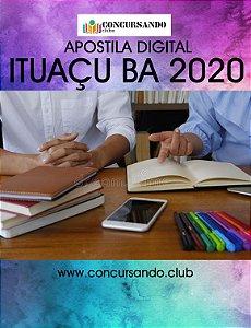 APOSTILA CÂMARA DE ITUAÇU BA 2020 ADVOGADO