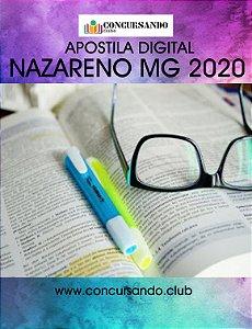 APOSTILA PREFEITURA DE NAZARENO MG 2020 AGENTE DE ADMINISTRAÇÃO