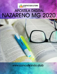 APOSTILA PREFEITURA DE NAZARENO MG 2020 CONTROLADOR INTERNO
