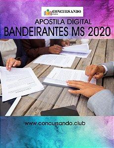 APOSTILA PREFEITURA DE BANDEIRANTES MS 2020 ORIENTADOR SOCIAL - TÉCNICO DE AÇÕES ASSISTENCIAIS