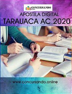 APOSTILA PREFEITURA DE TARAUACA AC 2020 ASSISTENTE SOCIAL