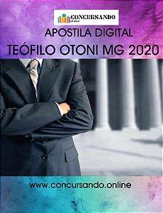 APOSTILA CÂMARA DE TEÓFILO OTONI MG 2020 CONTADOR