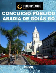 APOSTILA PREFEITURA ABADIA DE GOIÁS GO 2020 ALMOXARIFE