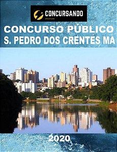 APOSTILA PREFEITURA SÃO PEDRO DOS CRENTES MA 2020 FARMACÊUTICO
