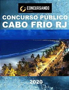 APOSTILA PREFEITURA DE CABO FRIO RJ 2020 FISCAL DE POSTURA