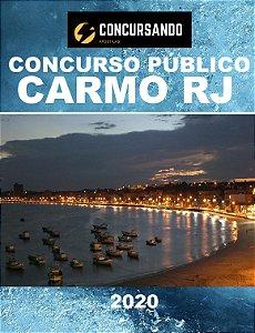 APOSTILA PREFEITURA DE CARMO RJ 2020 ASSISTENTE ADMINISTRATIVO