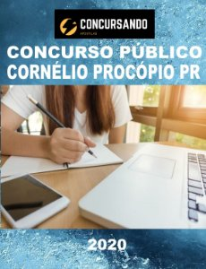 APOSTILA PREFEITURA DE CORNÉLIO PROCÓPIO PR 2020 CONTADOR