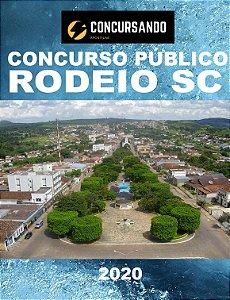 APOSTILA PREFEITURA DE RODEIO SC 2020 PROFESSOR DE INGLÊS
