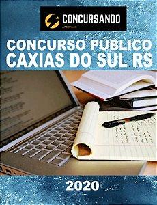 APOSTILA PREFEITURA DE CAXIAS DO SUL RS 2020 PROFESSOR DE PORTUGUÊS