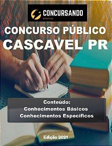 APOSTILA PREFEITURA DE CASCAVEL PR 2021 BIBLIOTECÁRIO