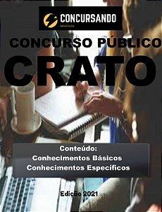 APOSTILA PREFEITURA DE CRATO CE 2021 PROFESSOR LETRAS - LÍNGUA PORTUGUESA