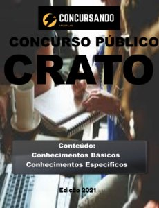 APOSTILA PREFEITURA DE CRATO CE 2021 ANALISTA DE GESTÃO
