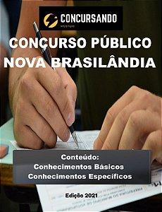 APOSTILA PREFEITURA DE NOVA BRASILÂNDIA D'OESTE RO 2021 PROFESSOR DE INGLÊS