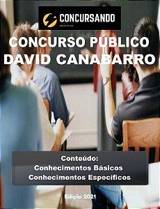 Apostila PREFEITURA DE DAVID CANABARRO RS 2021 Inspetor Tributário