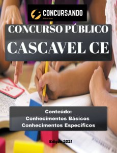 APOSTILA PREFEITURA DE CASCAVEL CE 2021 EDUCADOR FÍSICO
