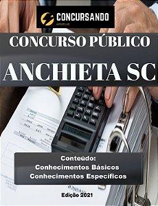 Apostila PREFEITURA DE ANCHIETA SC 2021 Auditor do Controle Interno
