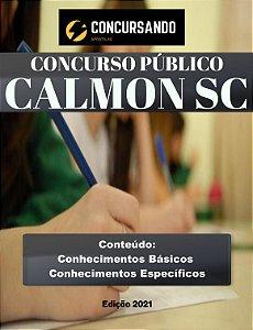APOSTILA PREFEITURA DE CALMON SC 2021 AGENTE COMUNITÁRIO DE SAÚDE