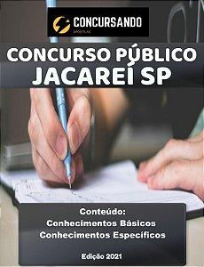 APOSTILA CÂMARA DE JACAREÍ SP 2021 ANALISTA DE PESSOAL E TREINAMENTO