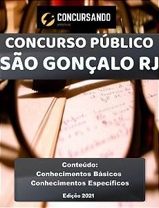 APOSTILA CÂMARA DE SÃO GONÇALO RJ 2021 EDUCAÇÃO E CULTURA