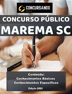 APOSTILA PREFEITURA DE MAREMA SC 2021 PSICÓLOGO