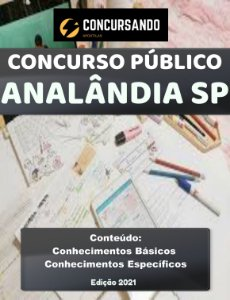 APOSTILA PREFEITURA DE ANALÂNDIA SP 2021 NUTRICIONISTA