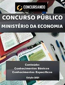 Apostila MINISTÉRIO DA ECONOMIA 2021 Economia