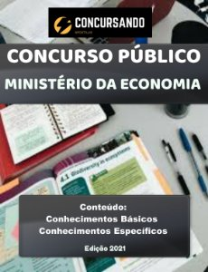 Apostila MINISTÉRIO DA ECONOMIA 2021 Direito