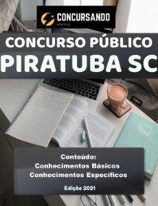 APOSTILA PREFEITURA DE PIRATUBA SC 2021 ENFERMEIRO