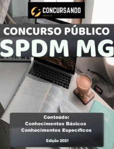 APOSTILA SPDM MG 2021 ANALISTA DE CONTAS A PAGAR JR