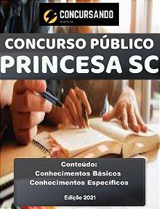 APOSTILA PREFEITURA DE PRINCESA SC 2021 ASSISTENTE SOCIAL