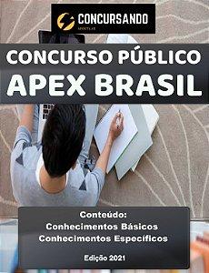 APOSTILA APEX BRASIL 2021 ANALISTA - PROCESSOS JURÍDICOS