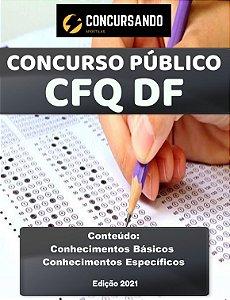 APOSTILA CFQ DF 2021 ANALISTA DE SISTEMAS - SISTEMAS E PROCESSOS