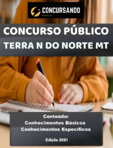 APOSTILA PREFEITURA DE TERRA NOVA DO NORTE MT 2021 AGENTE COMUNITÁRIO DE SAÚDE