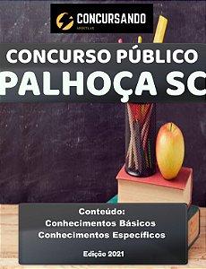 Apostila PREFEITURA DE PALHOÇA SC 2021 Médico Veterinário