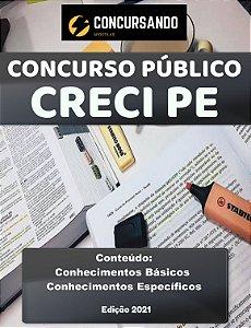 Apostila CRECI PE 2021 Profissional Analista Superior (PAS) – TI