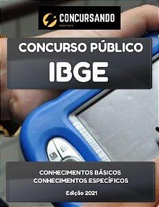 APOSTILA IBGE 2021 SUPERVISOR DE PESQUISAS TECNOLOGIA DA INFORMAÇÃO E COMUNICAÇÃO