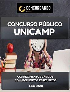 APOSTILA UNICAMP 2021 ASSUNTOS UNIVERSITÁRIOS - TÉCNICO EM BIOTERISMO