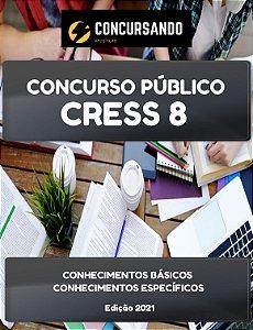 APOSTILA CRESS 8 2021 ASSISTENTE SOCIAL-AGENTE FISCAL