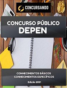 APOSTILA DEPEN 2021 ESPECIALISTA TÉCNICO DE OBRAS - ENGENHARIA CALCULISTA FUNDAÇÕES