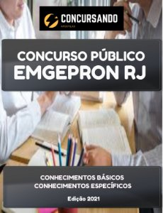 APOSTILA EMGEPRON RJ 2021 TÉCNICO INSTRUMENTAÇÃO