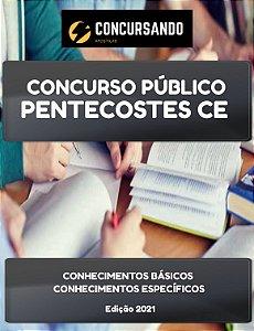 APOSTILA PREFEITURA DE PENTECOSTES CE 2021 RECEPCIONISTA