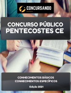 APOSTILA PREFEITURA DE PENTECOSTES CE 2021 AGENTE SOCIAL