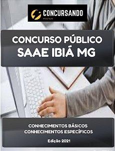 APOSTILA SAAE IBIÁ MG 2021 ATENDENTE COMERCIAL